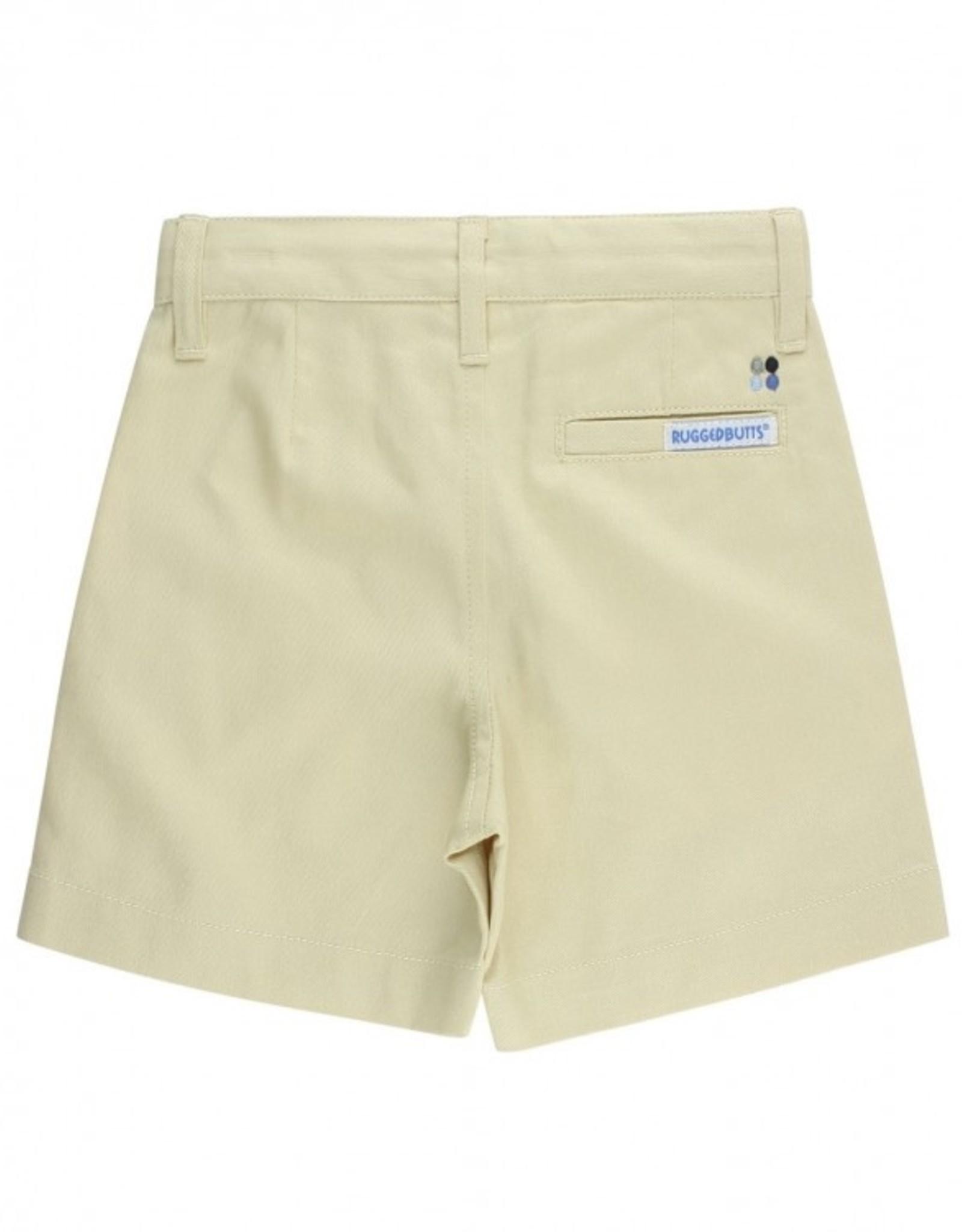 RuggedButts Khaki Lightweight Chino Shorts
