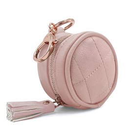 Itzy Ritzy Blush Pink Paci Pod Keychain