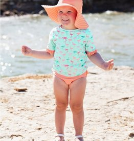 RuffleButts Flamingo Beach Bikini 18-24 mos.