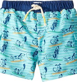 Mud Pie Dog Surfing Swim Trunks 12-18 months