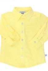 RuggedButts Lemon Slub Button Down Shirt 18-24 mos.