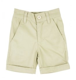 RuggedButts Khaki Cuffed Chino Short 18-24 mos.