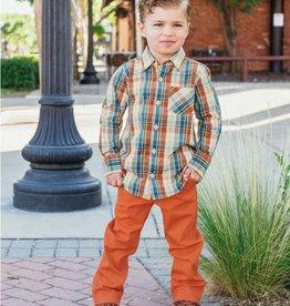 RuggedButts Orange Spice Straight Chino Pants