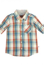 RuggedButts Miller Plaid Button Down Shirt