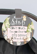 Do Not Touch Baby Car Seat Sign
