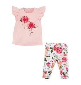 Mud Pie Peony Tunic & Legging Set