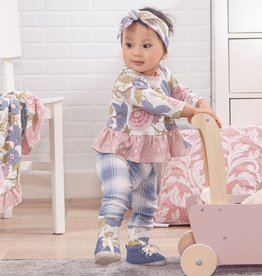 Floral Tapestry Top & Bottom 3T