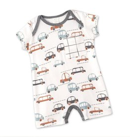 Cars Boy Shortie Romper 12-18 mos.