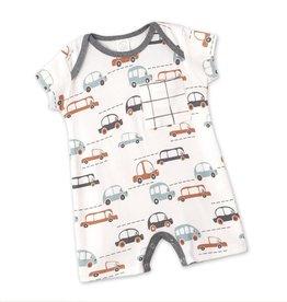 Cars Boy Shortie Romper
