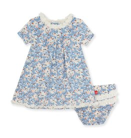 Magnetic Me Somebunny Floral Dress & Diaper Cover