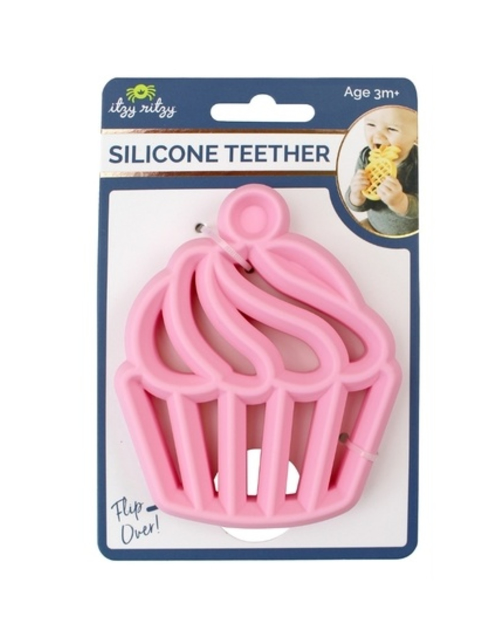 Itzy Ritzy Cupcake Silicone Teether