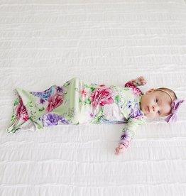 Posh Peanut Georgina Zippered Gown 0-3 months