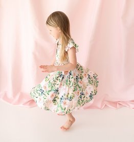 Posh Peanut Harper Henley Twirl Dress