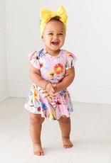 Posh Peanut Kaileigh Twirl Skirt Bodysuit / capped slv