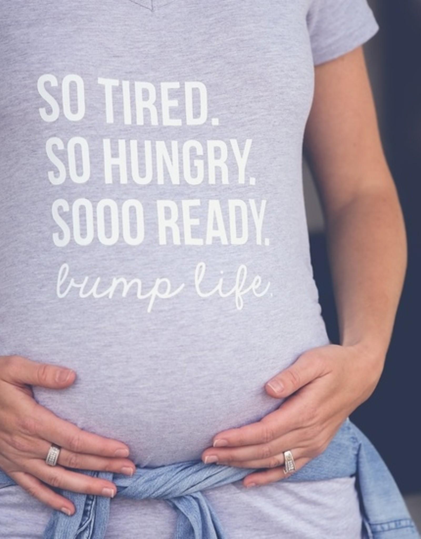 Bump Life Maternity Shirt