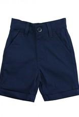 RuggedButts Navy Cuffed Chino Shorts