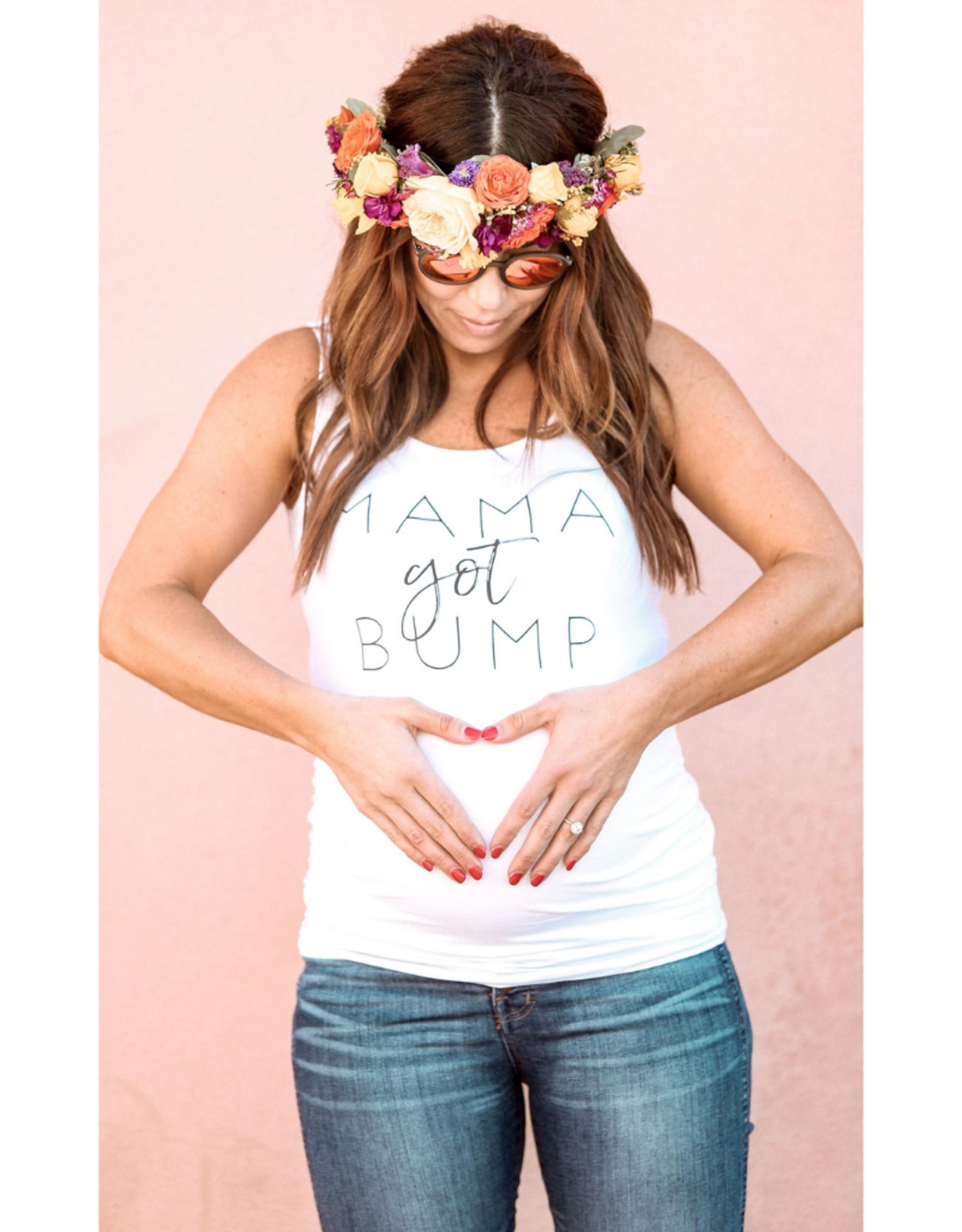 Mama Got Bump Maternity Tank