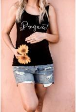 So Pregnant Maternity Tank