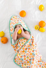 Copper Pearl Citrus Hooded Towel