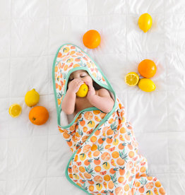 Copper Pearl Citrus Hooded Towel