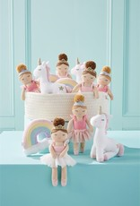 Mud Pie Princess & Friends Plush Rattles