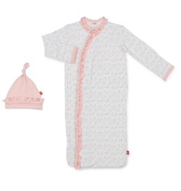 Magnetic Me Carousel Modal Gown & Hat NB-3 mos., magnetic