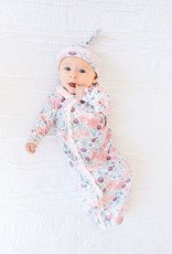 Magnetic Me Mayfair Gown & Hat Set NB - 3 mos, organic cotton