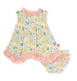 Magnetic Me Citrus Bloom Modal Dress & Diaper Cover