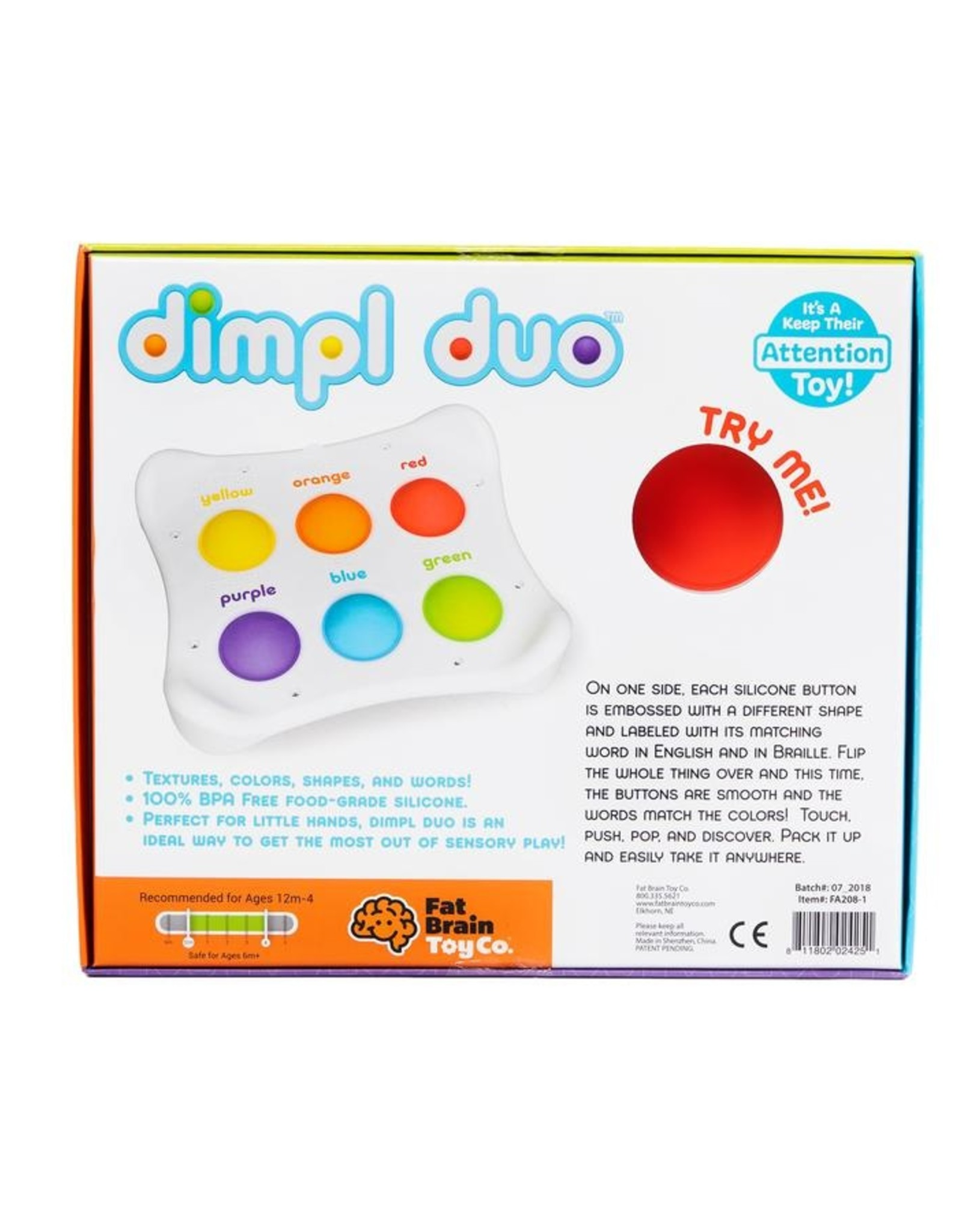 Fat Brain Toy Co Dimpl Duo