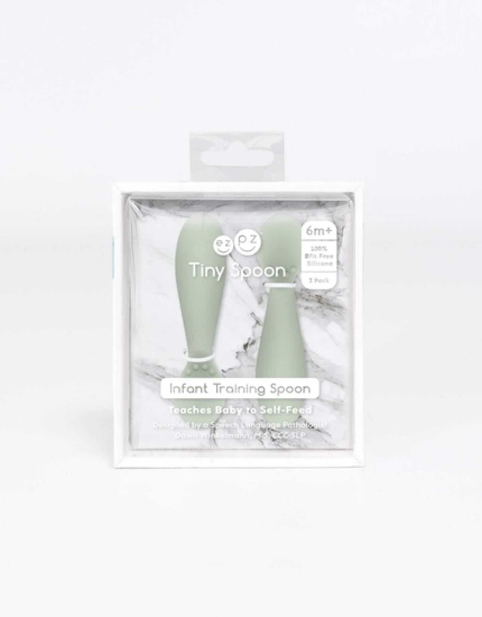 ezpz Tiny Spoons (2 pk) - Sage