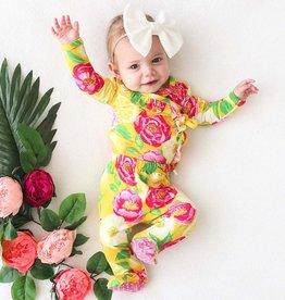Posh Peanut Annika Ruffled Kimono Set 0-3 months