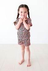 Posh Peanut Roxy - Micro Ruffled T-Shirt & Ruffled Shorts Set