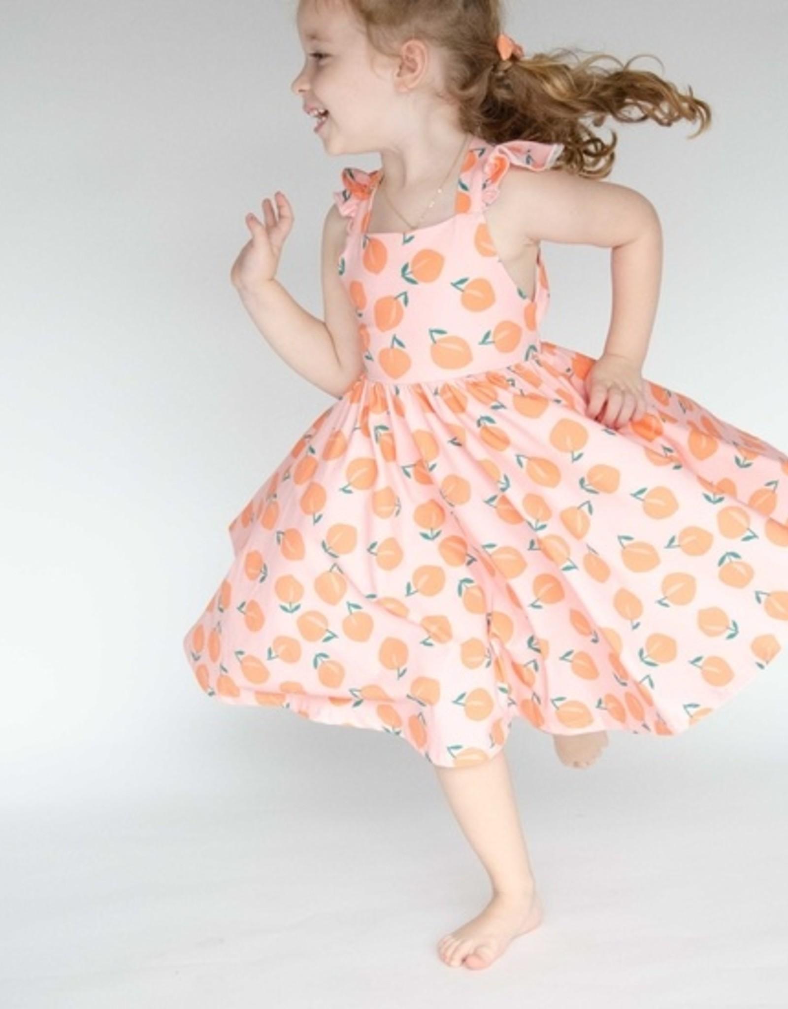 Peachy Twirl Dress 18-24 months
