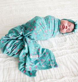 Posh Peanut Cassandra Infant Swaddle & Headwrap
