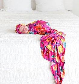 Posh Peanut Aminatu Infant Swaddle & Headwrap