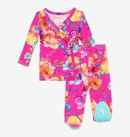 Posh Peanut Aminatu Ruffled Kimono 0-3 months Pre-order