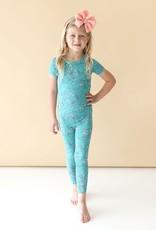 Posh Peanut Cassandra - Short Sleeve Basic Pajama 2T