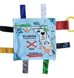 Baby Jack and Company State Facts Crinkle Toy Squares 8x8