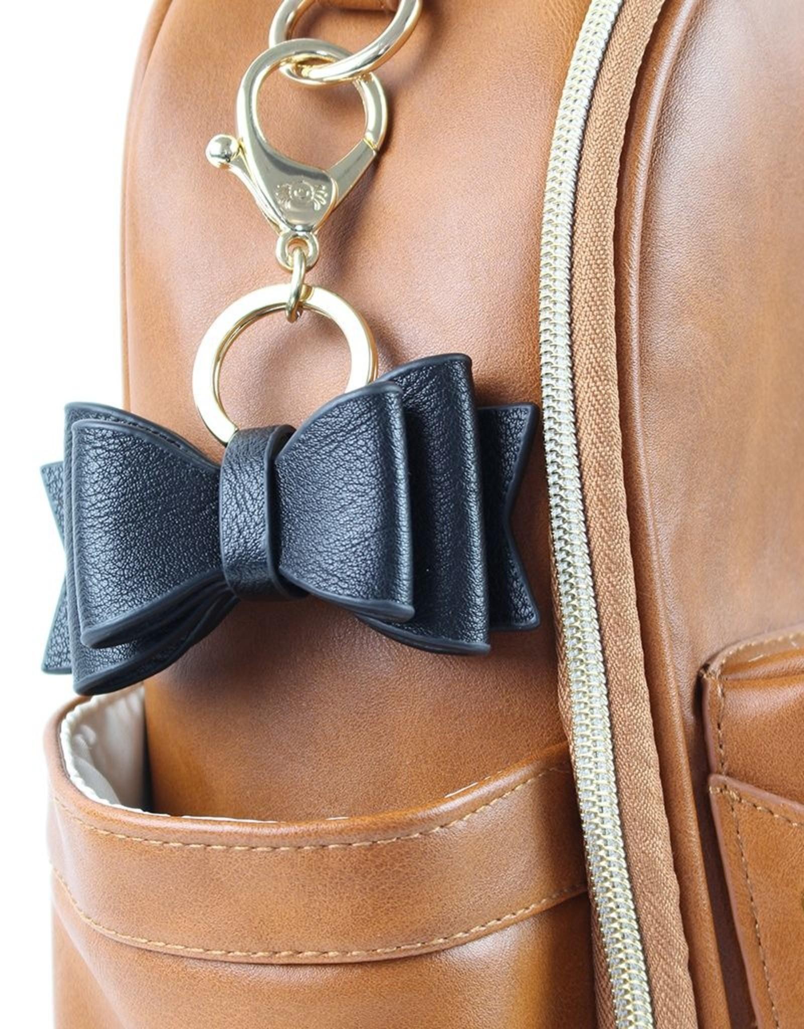 Itzy Ritzy Boss Bow Keychain Charm
