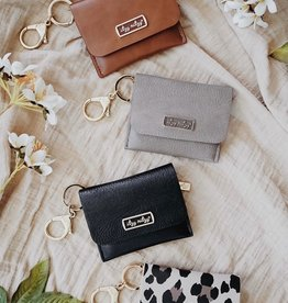 Itzy Ritzy Itzy Mini Wallet Card Holder/Key Chain Charm