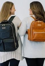 Itzy Ritzy Cognac Mini Diaper Bag Backpack