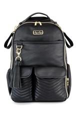 Itzy Ritzy Jetsetter Black Boss Backpack Diaper Bag