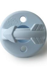Itzy Ritzy Pacifier Set Blue Arrows