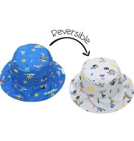 Sun Hat - Dino (reversible)