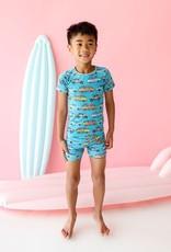 Posh Peanut Marino Basic Short Pajamas