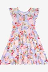 Posh Peanut Bellamy Henley Twirl Dress, ruffled cpslv