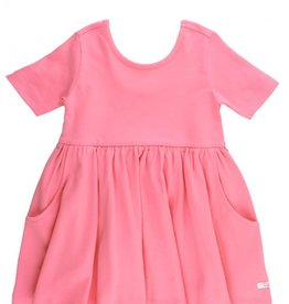 RuffleButts Rose Twirl Dress