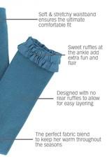 RuffleButts Ethereal Ruffle Leggings 4T/5