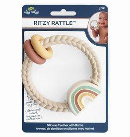 Itzy Ritzy Neutral Rainbow Ritzy Rattle