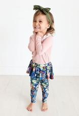 Posh Peanut Carmen Peterpan Collar Bodysuit & Skirted Legging - Lng Slv